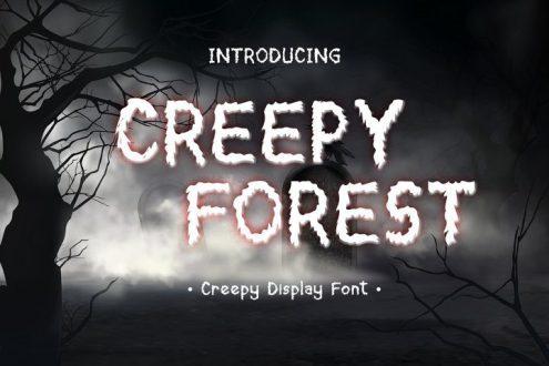 Free spooky Font