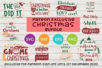 Free Christmas SVG Bundle