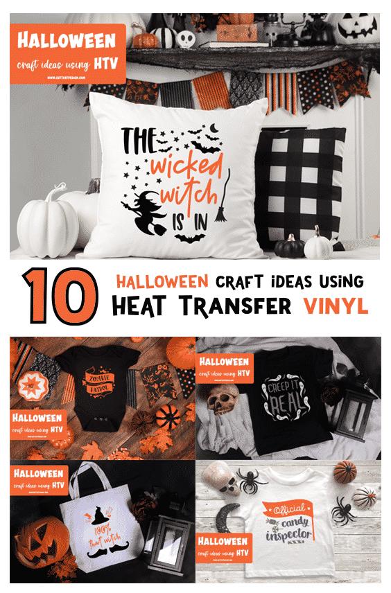 Halloween htv ideas
