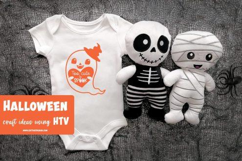 Cute halloween bodysuit htv ideas