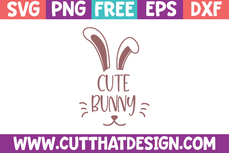 Cute Bunny SVG