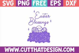 Free SVG Cut Files Easter