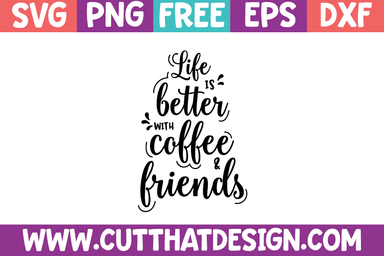 Free SVG Files Coffee