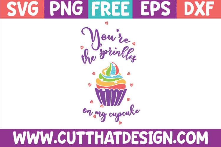 Free SVG Cupcake