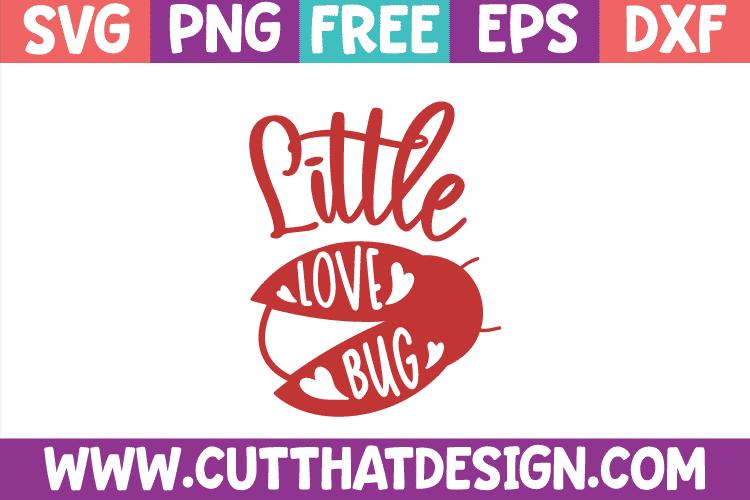 Free Valentines SVG Little Love Bug