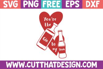 Free SVG Files Gin
