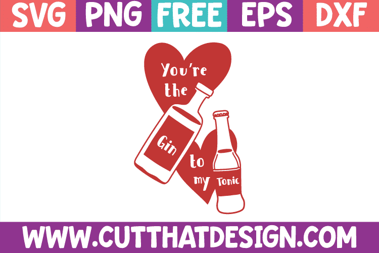 Free SVG Files Gin