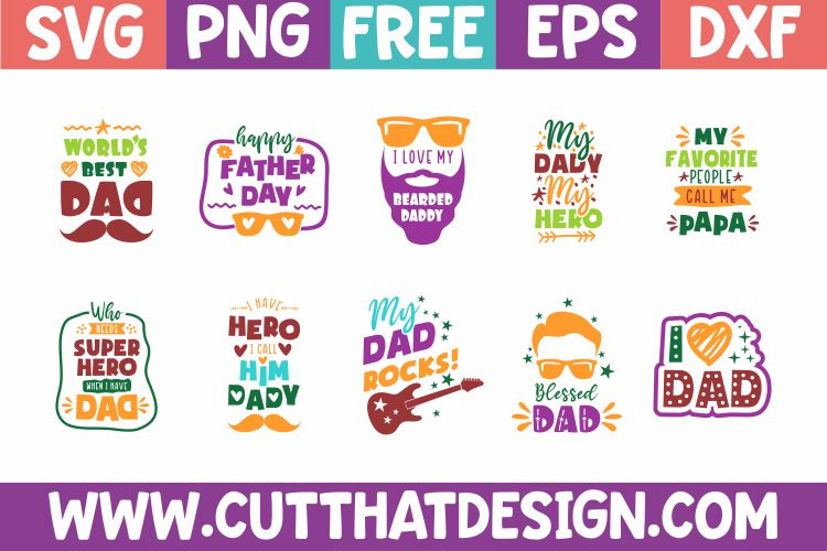 Free Father's Day SVG bundle