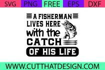 Free Fishing SVG
