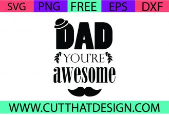 Free Father's Day SVG