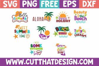 Free Summer SVG Bundle