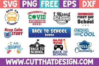 Free Back to School SVG bundle