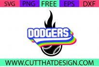 Free USA Baseball SVG