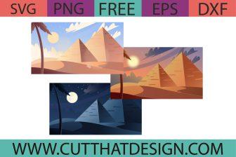 Free Egypt Pyramid SVG