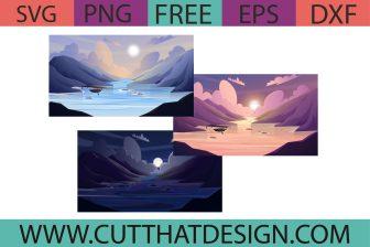 Free Lake SVG