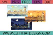 Free London Big Ben SVG