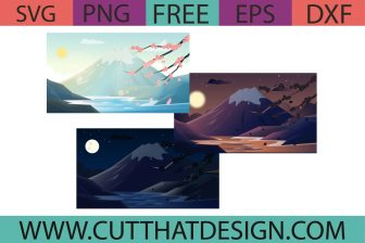 Free Mt. Fuji SVG