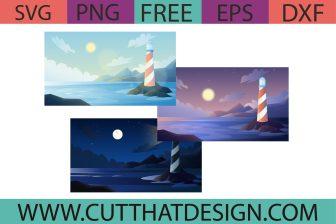 Free Sea Lighthouse Scenery