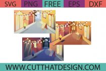 Free Street Illustration SVG