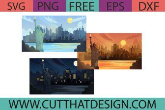 Free USA Statue of Liberty SVG