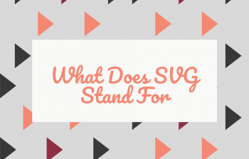 What Does SVG Stand For